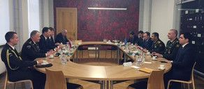 Azerbaijani Minister met with his Latvian counterpart