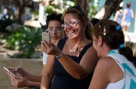 Wi-Fi hotspots opened in Cuba