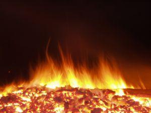 Armenia set fire to the occupied Azerbaijani lands