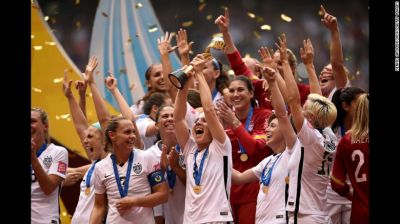 The US won Women's World Cup