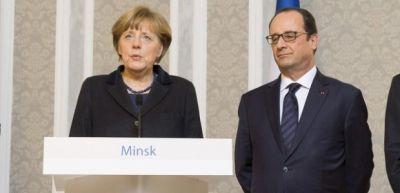 Olland və Merkel dərhal hərəkətə keçdi