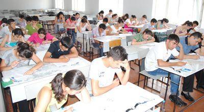 У абитуриентов русского сектора экзамен