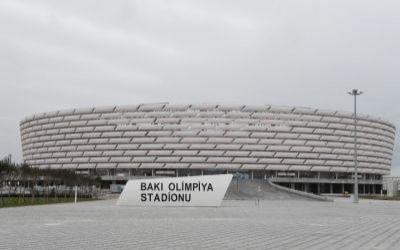 Азербайджан примет сборную Италии на Бакинском олимпийском стадионе