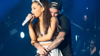 Ariana Grande dating her back-up dancer