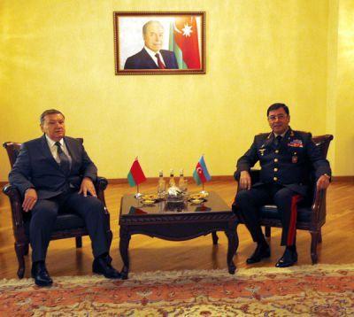 В Минобороны проведена встреча с делегацией из Беларуси  ФОТО