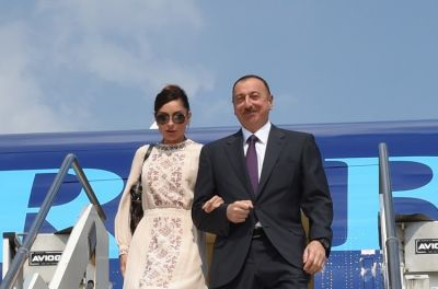 Azerbaijani President arrived in Italy on a working visit