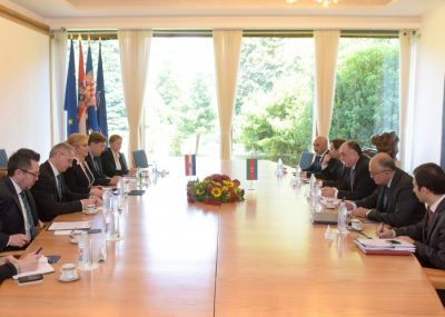 Azerbaijani FM met President of Croatia