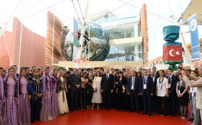 На Milan Expo 2015 в павильоне Азербайджана организован «Национальный день»