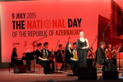 "Heydar Aliyev Foundation holds concert at the ""Expo Milano 2015"""