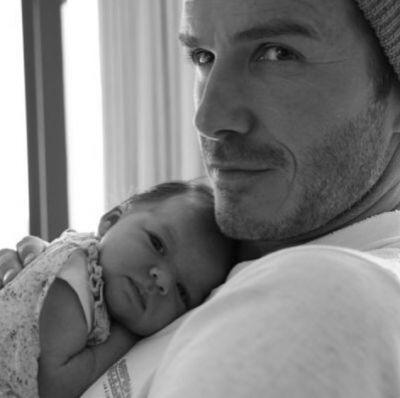 Beckham's touching birthday message for daughter