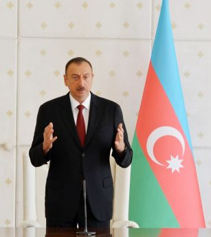 """Ильхам Алиев: """"Азербайджану необходимо подготовить новые механизм, формат и концепцию сотрудничества с европейскими структурами"""""""