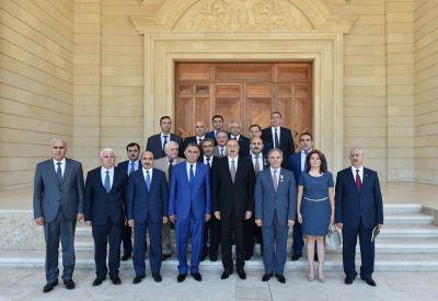 Президент Азербайджана принял членов правления Совета прессы