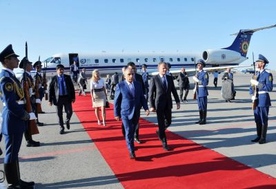 President of the EC arrives in Azerbaijan