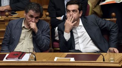 The Greek parliament to vote