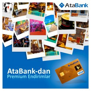 Premium offers for premium cards of AtaBank OJSC
