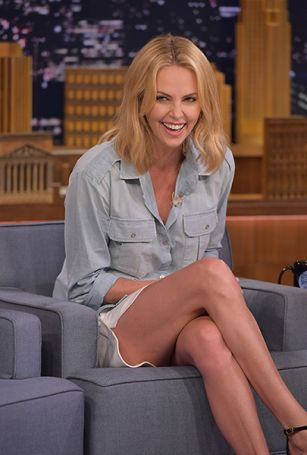 Charlize Theron's embarrassing comment to President Obama