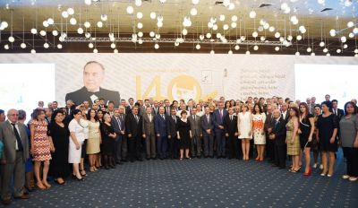 Solemn ceremony to mark 140th jubilee of establishing national Press held in Baku