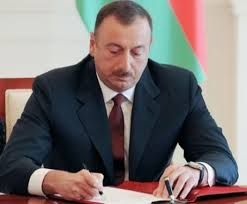 Azerbaijani President signs an order