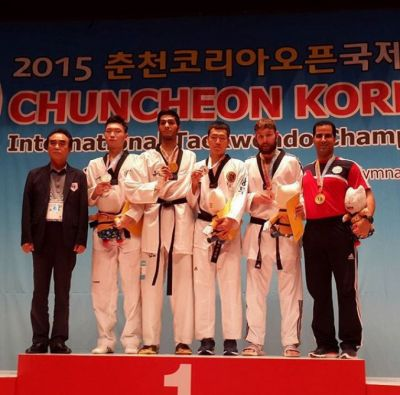 Azerbaijani taekwondo fighters win 3 medals at Korea Open