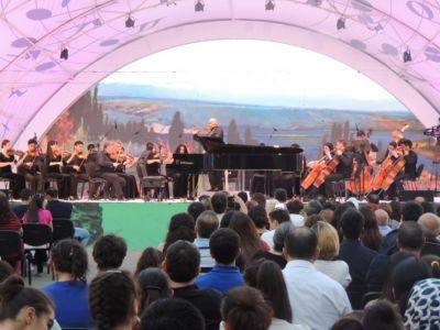 Gara Garayev State Chamber Orchestra performs at Gabala festival