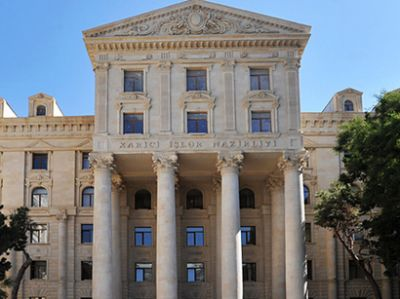Foreign Ministry:  No one  persecuted for his political activities and opinions in Azerbaijan