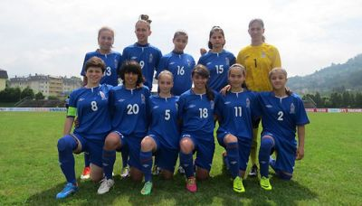 Azerbaijani U-17 women footballers beat Latvia