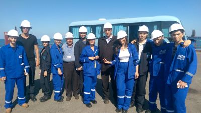 "BHOS students taking internship at ""Neft Dashlari""  PHOTO"