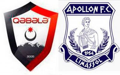 Azerbaijani FK Qabala held to a 1-1 draw by Apollon Limassol
