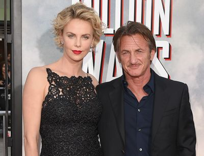 Charlize Theron and Sean Penn reunited  on movie set
