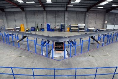 Facebook ready to test Internet-beaming drones