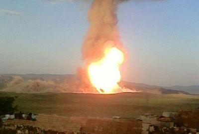 Произошел взрыв на газопроводе Баку-Тбилиси-Карс-Эрзурум