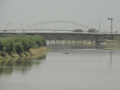 Строительство нового моста над Курой завершается ФОТО