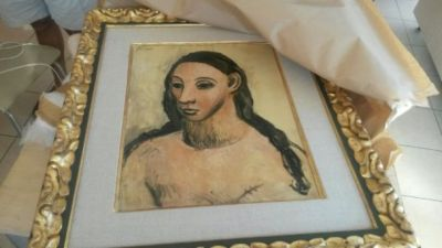 Picasso seized by French customs in Corsica