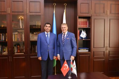 Eurasian University Union President visited BHOS