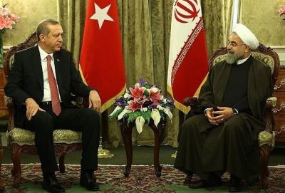 Erdogan, Rouhani discuss anti-terror effort