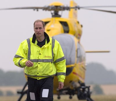 Prince William helps rescue shooting victim