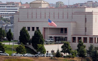 Turkey: Gunmen open fire at U.S. Consulate