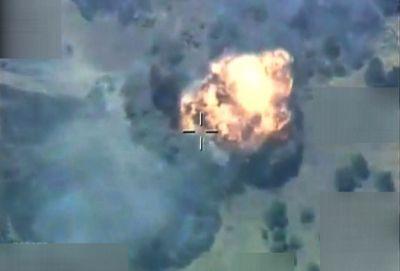 Turkey: Jets hit terrorist targets in Hakkari province