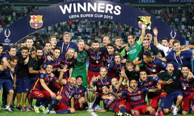 Barselona win UEFA Super Cup