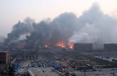 Deadly explosions hit China's port of Tianjin