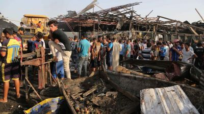 Baghdad bomb blast: ISIS claims responsibility for it