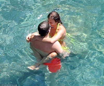 Irina Shayk and her  boyfriend enjoying their holiday in Italy