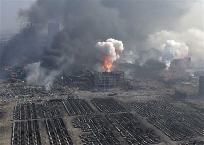 China explosion: Death toll rises to 56