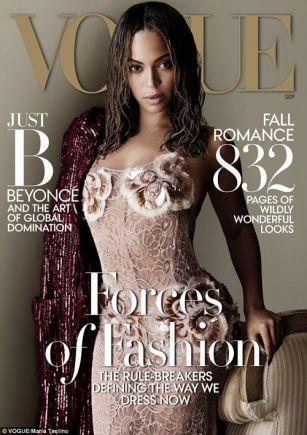 Бейонсе в фотосессии для Vogue ФОТО