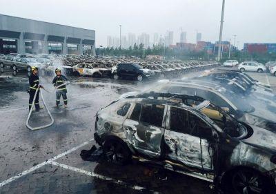 Число жертв взрыва на складе в Тяньцзине достигло 85 человек