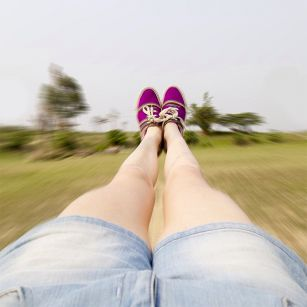 Ноги обычной девушки завоевали лайки тысяч пользователей Instagram
