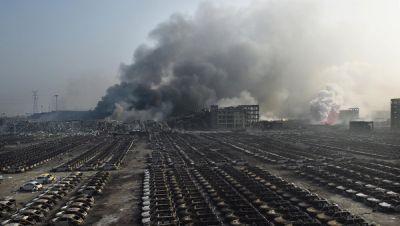 Новый взрыв прогремел в Тяньцзине