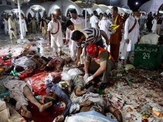Число жертв теракта в Пакистане увеличилось до 20