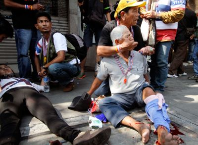 Взрыве в столице Таиланда 5 человек погибли, 20 пострадали