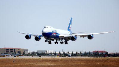 Парк воздушных судов Silk Way West пополнился новым самолетом Boeing 747-8 Freighter ФОТО